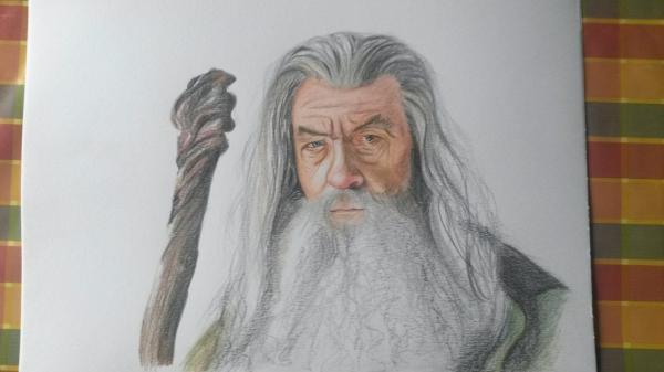 Ian McKellen by Quiva